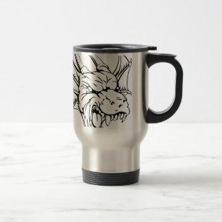 Dragon mascot mugs