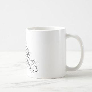 Dragon mascot mug