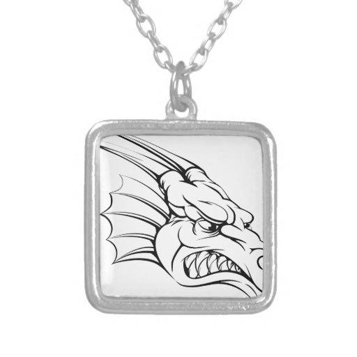 Dragon mascot jewelry