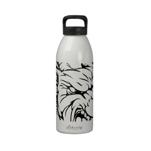 Dragon mascot reusable water bottles