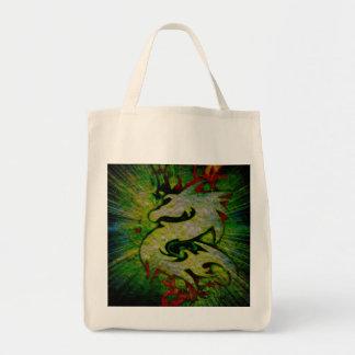 Dragon Me Along Grocery Tote Bag