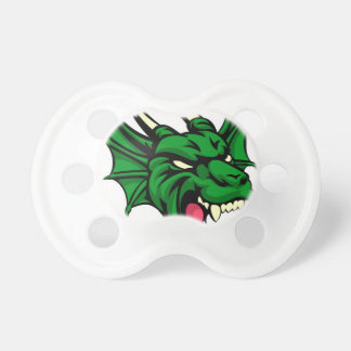 Dragon Mean Animal Mascot Baby Pacifier