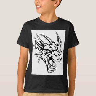 Dragon Mean Animal Mascot T-Shirt
