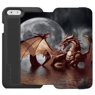 Dragon & Moon fantasy Designer Incipio Watson™ iPhone 6 Wallet Case