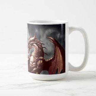 Dragon & Moon Fantasy Mug