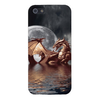 Dragon & Moon Fantasy Mythical iPhone 5 Savvy iPhone 5 Case
