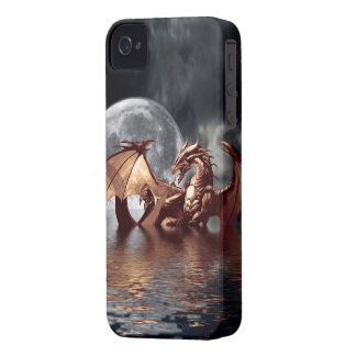 Dragon & Moon Fantasy Mythical iPhone Case iPhone 4 Cases