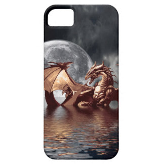 Dragon & Moon Fantasy Mythical iPhone Case iPhone 5 Case