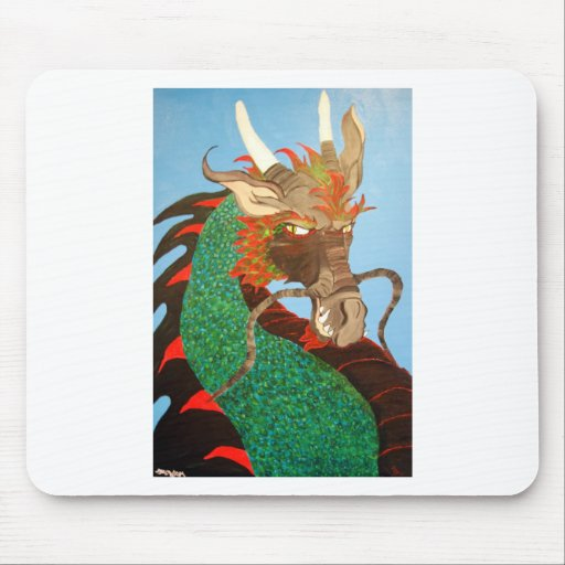 Dragon Mouse Pad