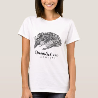 Dragon Mummy | Dream Believe Achieve T-Shirt