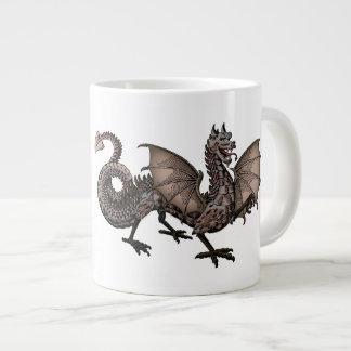 Dragon, Mythological Beast Large Coffee Mug