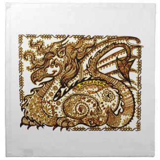 Dragon Napkin