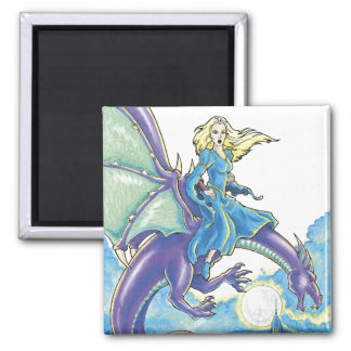 dragon night princess magnet