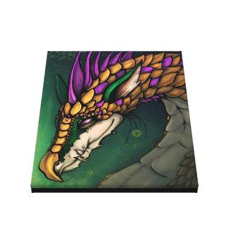 Dragon of Fortune - canvas