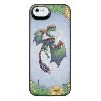 Dragon of Summer Nature Fantasy Art iPhone SE/5/5s Battery Case