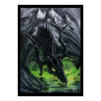 Dragon of the Dark Mountain Poster