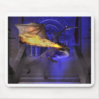 Dragon of the Mist Mouse Pad