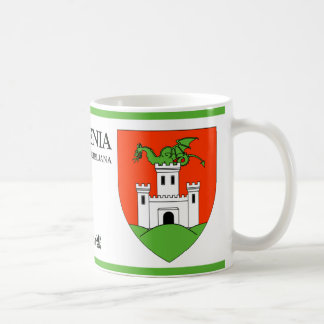 Dragon on the Castle from Ljubljana Slovenia Coffee Mug