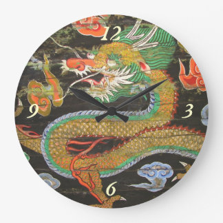 Dragon painting on the Korean ceiling of Sungnyemu Large Clock