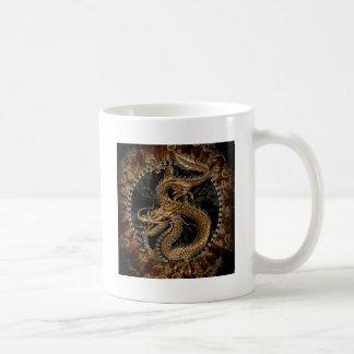 Dragon Pentagram Coffee Mug