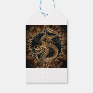 Dragon Pentagram Gift Tags