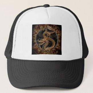 Dragon Pentagram Trucker Hat