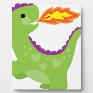 Dragon Photo Plaque