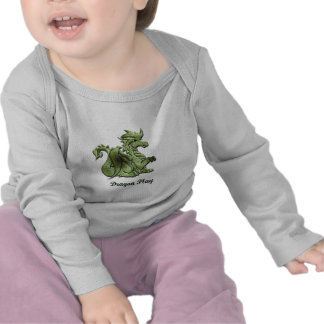 Dragon Play Baby Shirt