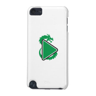 Dragon Play Button Side Retro iPod Touch 5G Cases