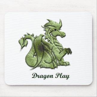 Dragon Play Mouse Pad