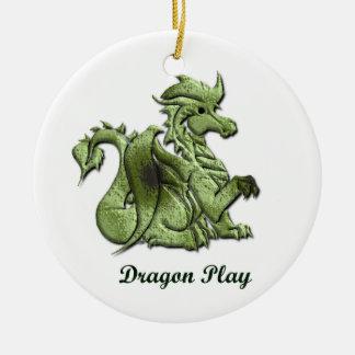 Dragon Play Ornament