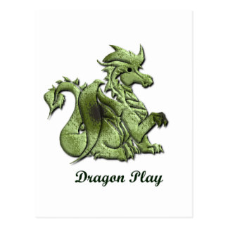 Dragon Play Postcard