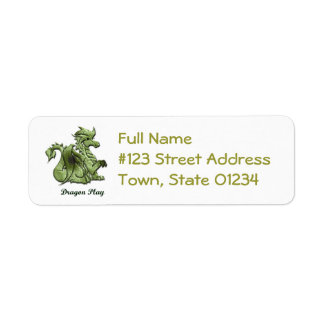 Dragon Play Return Address Label
