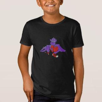Dragon playing basketball tee shirt