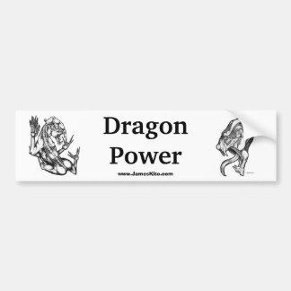 Dragon Power Bumper Sticker