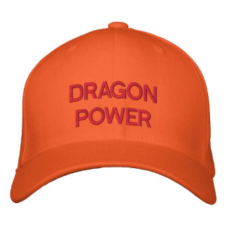 DRAGON POWER EMBROIDERED HAT
