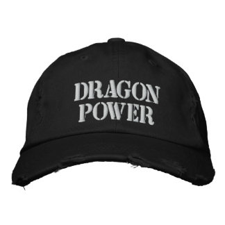 DRAGON POWER EMBROIDERED HATS