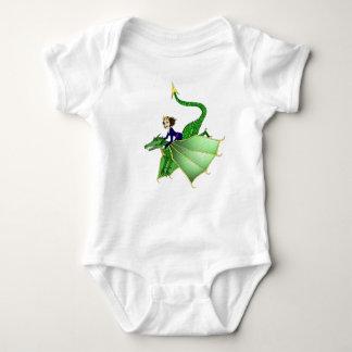 Dragon Princess Infant Shirt, 6-24 months Baby Bodysuit