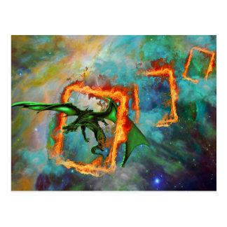 Dragon Race Postcard