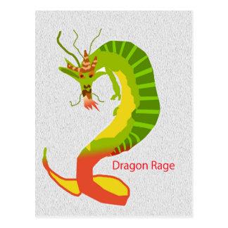 Dragon Rage Post Cards