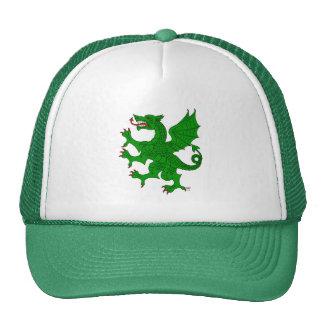 Dragon Rampant (Green) Hat