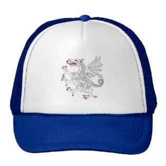 Dragon Rampant (White) Hat