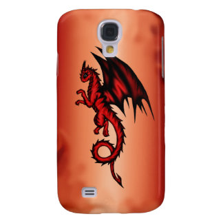 Dragon red galaxy s4 covers