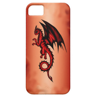 Dragon red iPhone 5 cover
