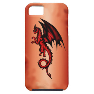 Dragon red iPhone 5 covers