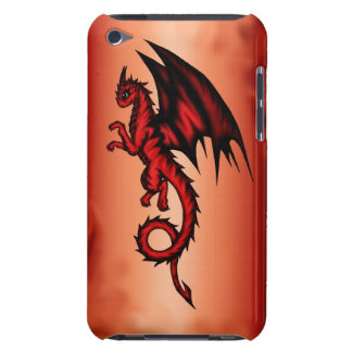 Dragon red iPod touch cover