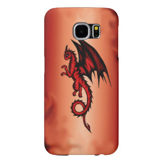 Dragon red samsung galaxy s6 cases