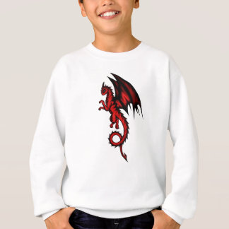 Dragon red sweatshirt
