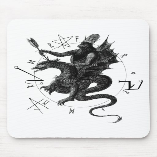 Dragon Rider Mousepads