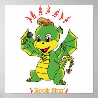 Dragon Rockstar™ Poster